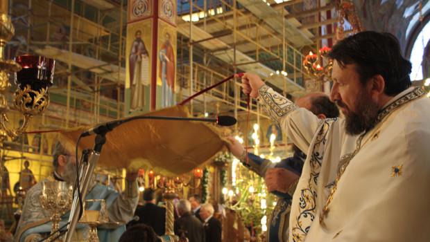 Πανηγυρικό Αρχιερατικό Συλλείτουργο στον Ι. Ν. Ευαγγελισμού της Θεοτόκου Ευόσμου