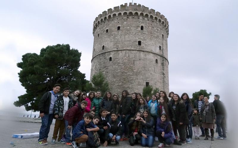 Εξόρμηση Γυμνασίου στη  Θεσσαλονίκη…
