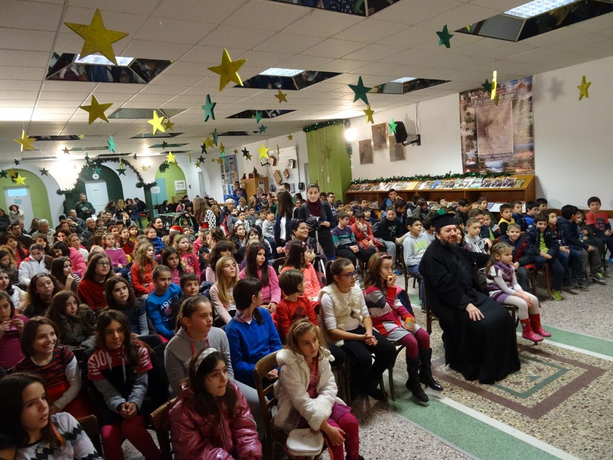 Χριστουγεννιάτικες γιορτές στην Κατακόμβη