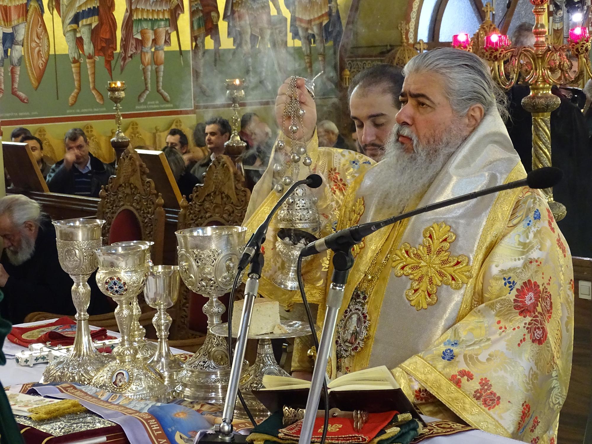 Αρχιερατική Θεία Λειτουργία προς τιμήν των συνεργατών της Ενορίας