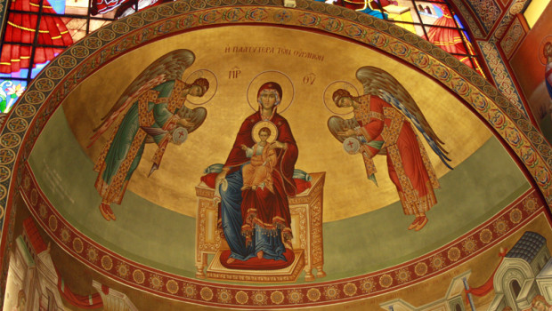 Κυριακή της Ορθοδοξίας. Λιτάνευση των Ιερών Εικόνων στον Ι. Ν. Ευαγγελισμού