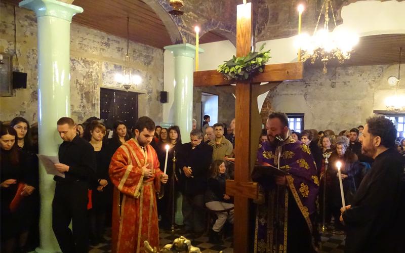 Η Ακολουθία των Παθών τη Μεγάλη Πέμπτη στον Άγιο Αθανάσιο