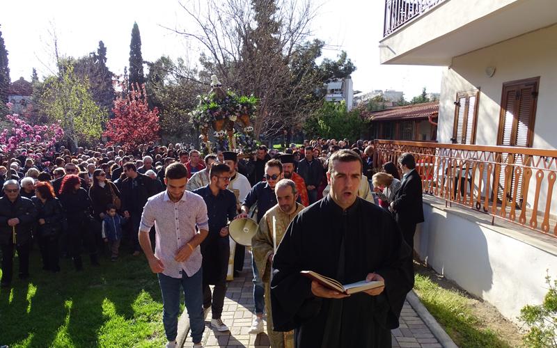 Ακολουθία και Έξοδος του Επιταφίου στον Άγιο Αθανάσιο