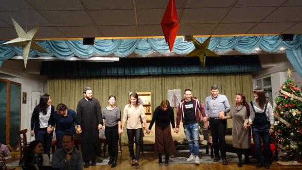 Χριστουγεννιάτικη γιορτή των συντροφιών Γυμνασίου και Λυκείου