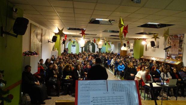 Στην Κατακόμβη η Χριστουγεννιάτικη Γιορτή του 1ου Γυμνασίου Ευόσμου