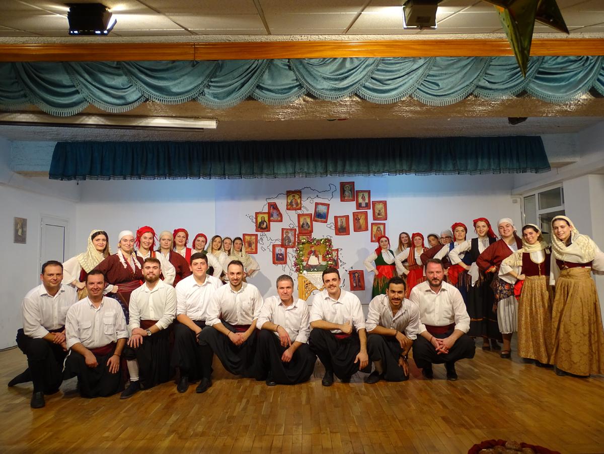 Εκδήλωση Λαογραφικού Τμήματος προς τιμήν του Άη Γιώργη του Φουστανελλά (Β΄ μέρος)