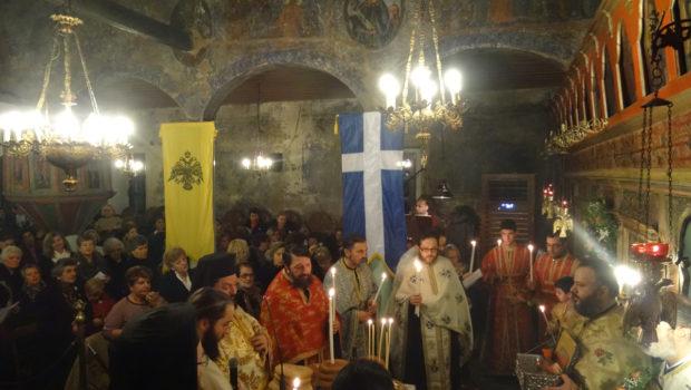 Πανηγυρικός Εσπερινός Αγίου Αθανασίου 17-1-2017