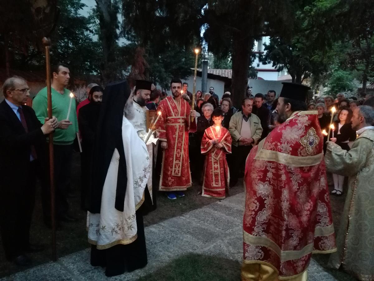 Δεύτερη Ανάσταση στον Ι. Ν. Αγίου Αθανασίου