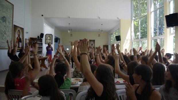 Ξεκίνησε η Κατασκήνωση των Κοριτσιών Δημοτικού (Β΄ Περίοδος) στη Μακρυνίτσα