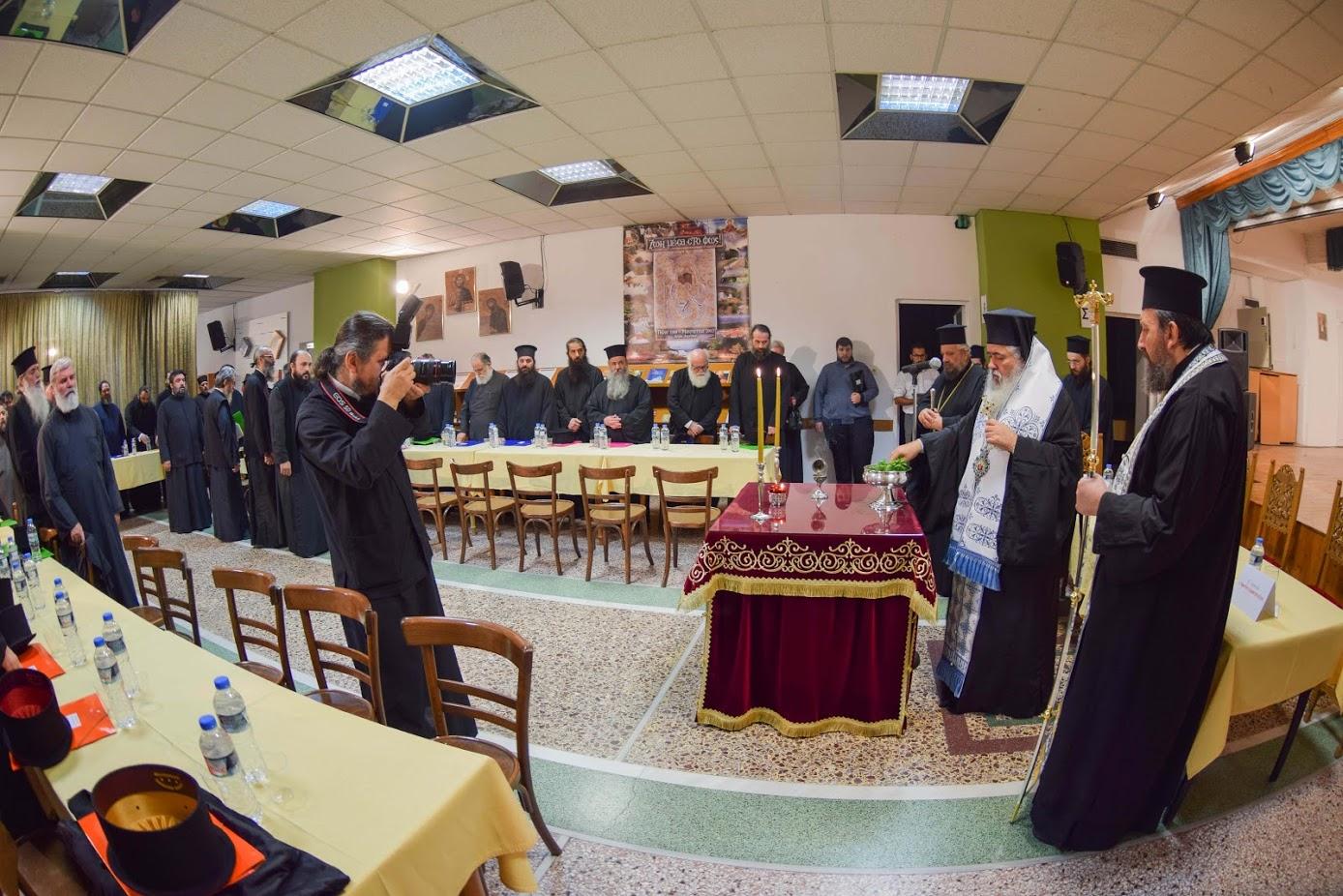 Επιμορφωτικό Σεμινάριο ιερέων της Ιεράς Μητροπόλεως στον Εύοσμο