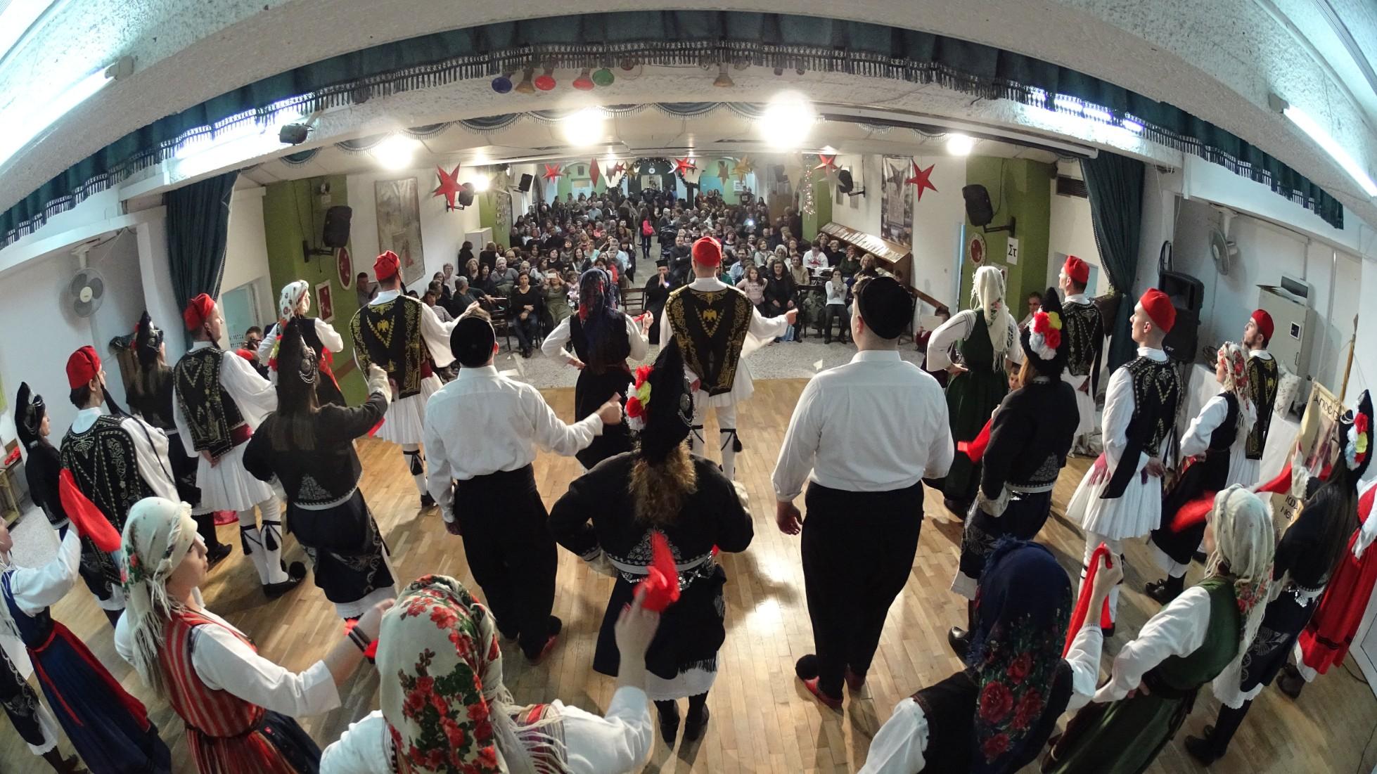 Εκδήλωση του Λαογραφικού Τμήματος προς τιμήν του Αη Γιώργη του Φουστανελά (Α΄ μέρος)