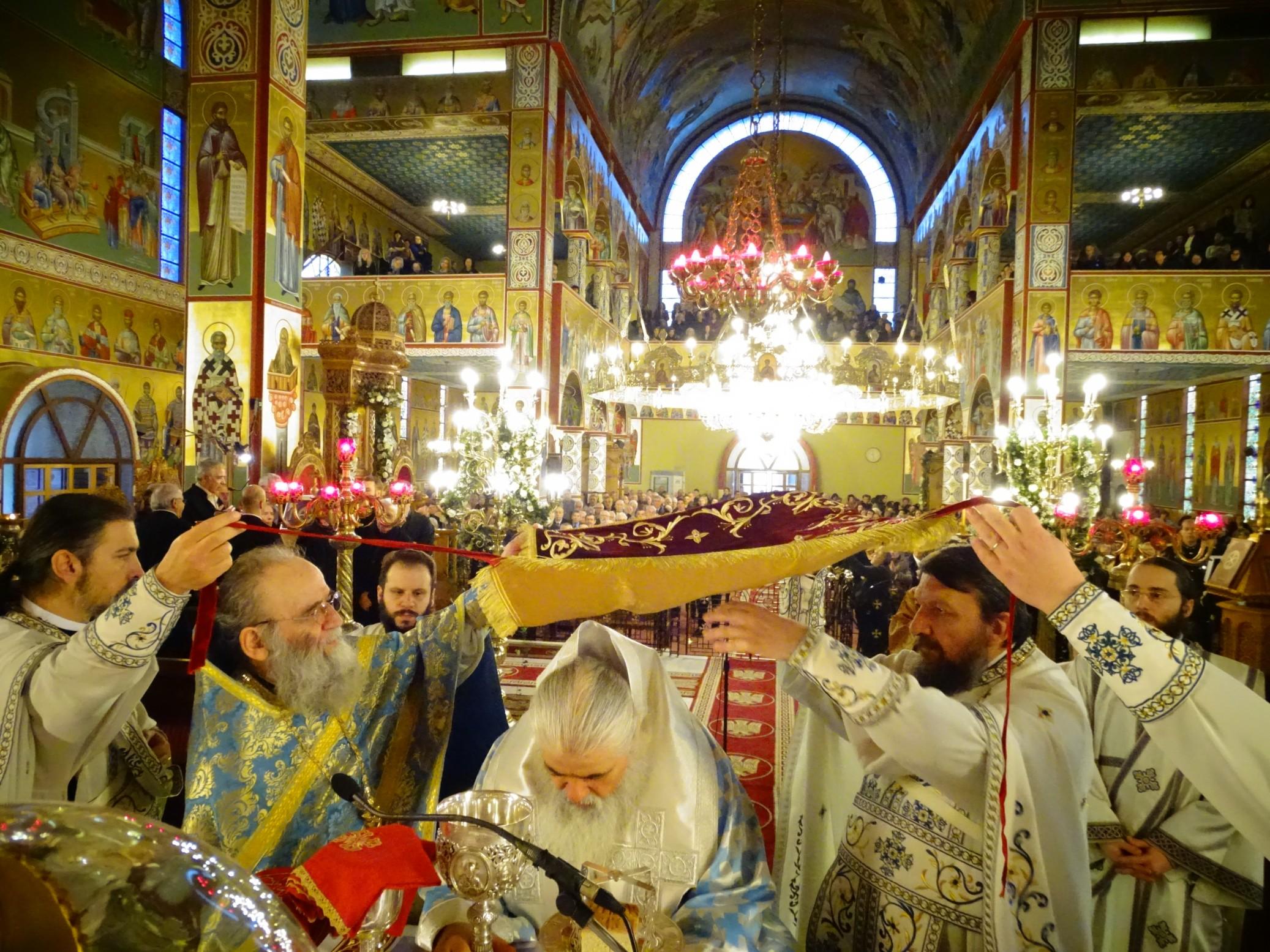 Αρχιερατική Πανηγυρική Θεία Λειτουργία Ανήμερα του Ευαγγελισμού