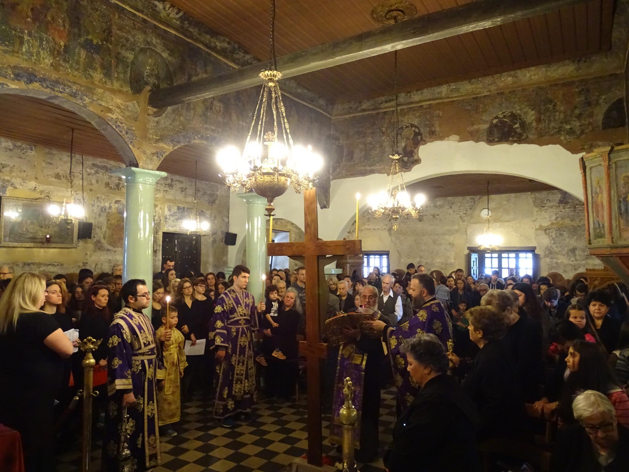 Η Ακολουθία των Παθών στον Άγιο Αθανάσιο