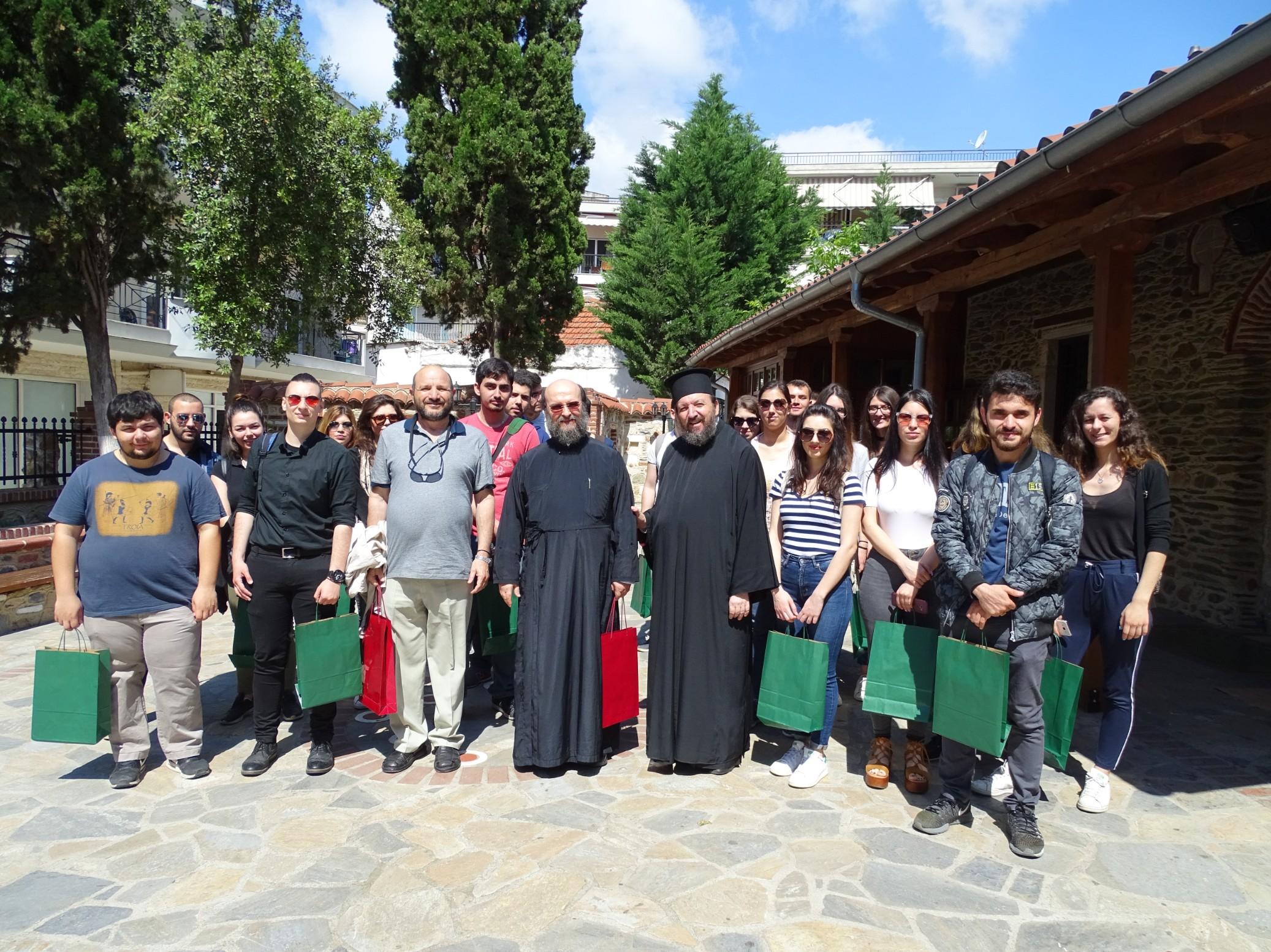 Επίσκεψη φοιτητών της Θεολογικής Σχολής στην Ενορία