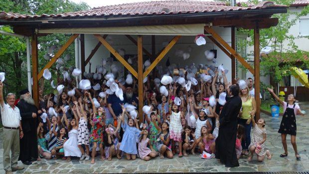 Ολοκληρώθηκε με επιτυχία η Δεύτερη Κατασκηνωτική Περίοδος των Κοριτσιών Δημοτικού