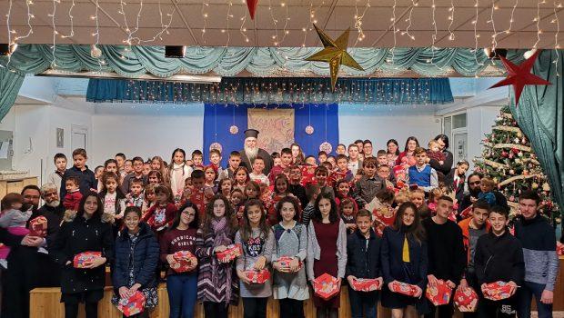 Γιορτή για τα παιδιά των Ιερέων της Μητροπόλεως στην Κατακόμβη
