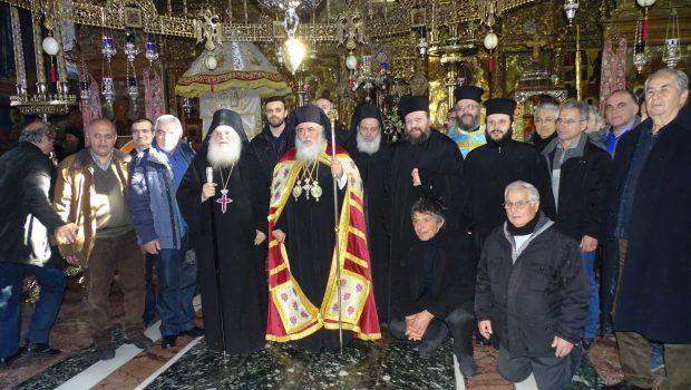 Προσκύνημα Ευγνωμοσύνης στην Ιερά Μεγίστη Μονή Βατοπαιδίου