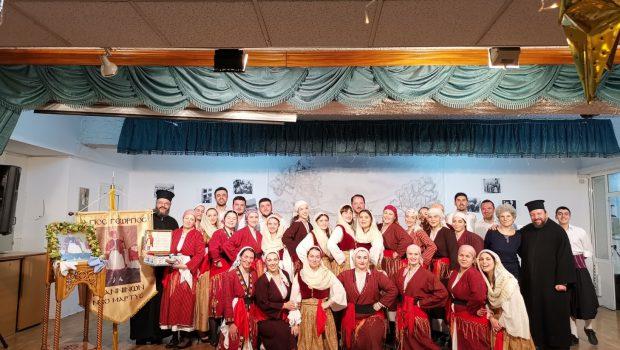 Εκδήλωση του Λαογραφικού Τμήματος της Κατακόμβης προς τιμήν του Αη Γιώργη του Φουστανελά (Β' μέρος)