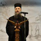 Ο πατέρας Γερβάσιος Σιμωνοπετρίτης στην Κατακόμβη