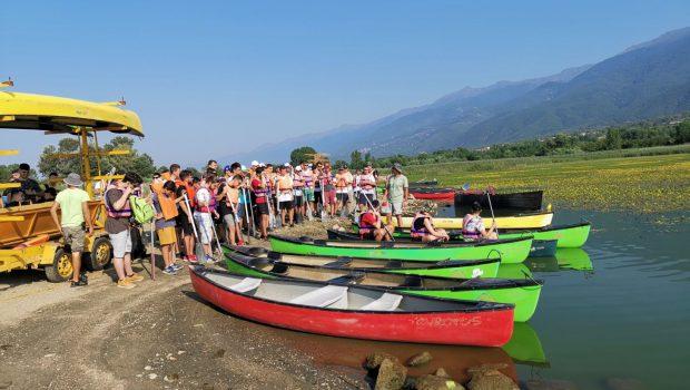 Η Κατασκήνωση των Αγοριών Γυμνασίου-Λυκείου στη Λίμνη Κερκίνη