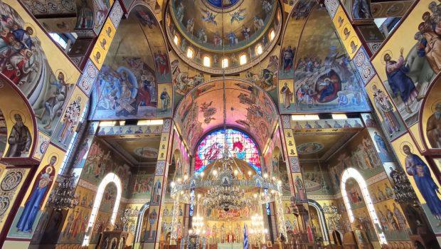 Θεία Λειτουργία κεκλεισμένων σε Ζωντανή Μετάδοση – Ε' Κυριακή των Νηστειών