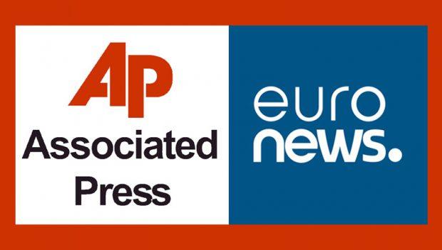To Αssociated Press και το Euronews στον Άγιο Αθανάσιο