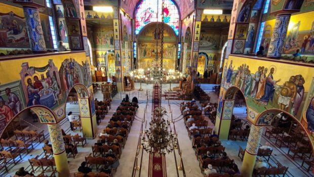 ΖΩΝΤΑΝΗ ΜΕΤΑΔΟΣΗ: Θ. Λειτουργία στον Ι. Ν. Ευαγγελισμού, Κυριακή 22-11-2020