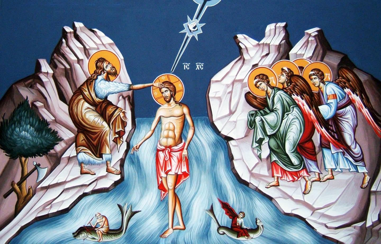 Όρθρος των Θεοφανείων και Ακολουθία της Θ. Μεταλήψεως σε Ζωντανή Μετάδοση από τον Ι. Ν. Ευαγγελισμού