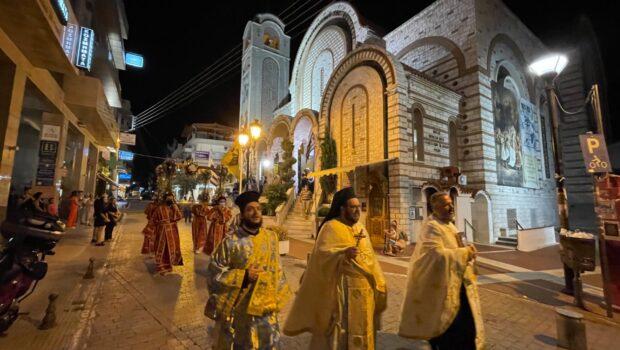 Γιορτάσαμε την Παναγία… στον Εύοσμο