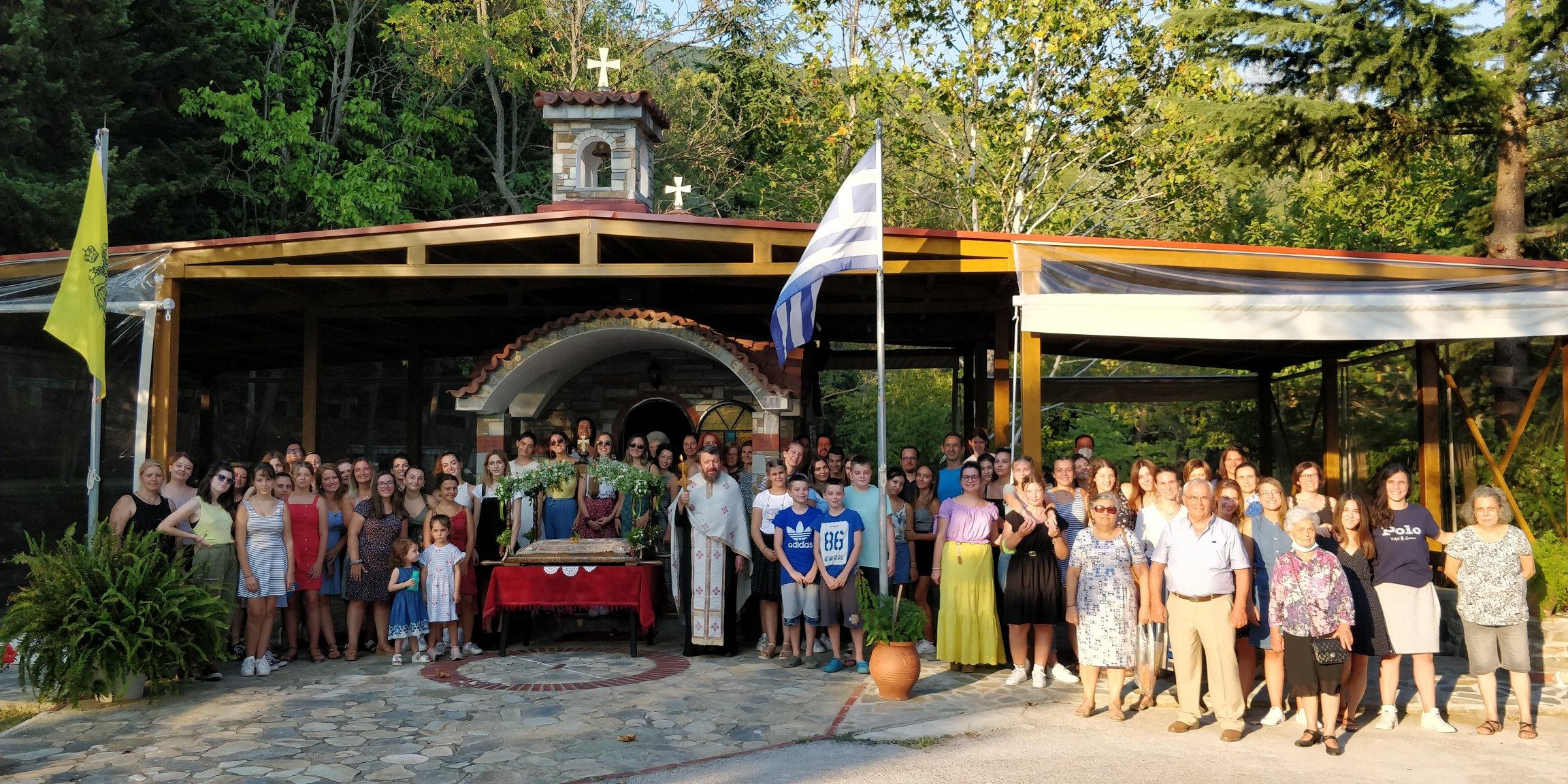 Γιορτάσαμε την Παναγία… και στην Κατασκήνωση